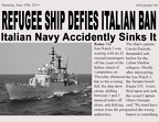 Lucky-Puppy-Single-story-News-Italian-Frigate-sinks-Muslims